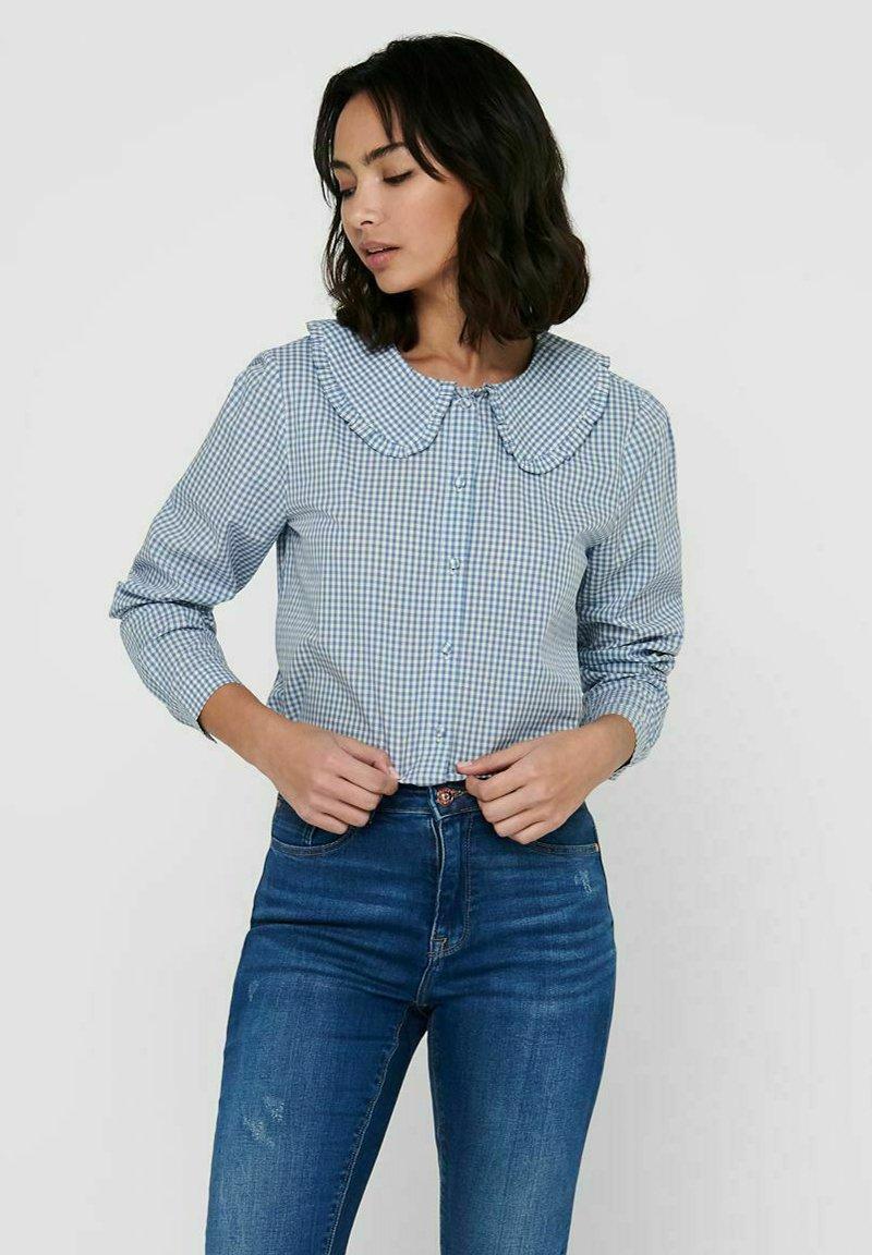 JDY - Button-down blouse - coronet blue
