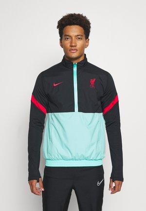 LIVERPOOL FC - Club wear - black/hyper turq/university red