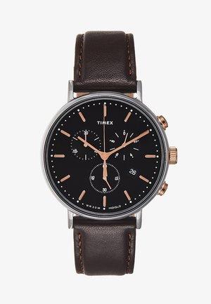 FAIRFIELD CHRONOGRAPH SUPERNOVA 41 mm - Chronograph watch - dark brown/black