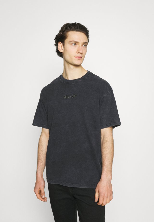 TEE CLASSIC WASH UNISEX - T-shirt med print - anthracite