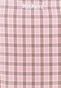 Kickers Classics - MINI GINGHAM DRESS - Day dress - pink/black - 2