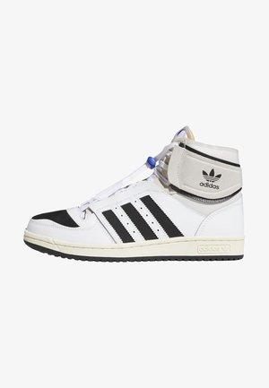 TOP TEN DE - Sneakers hoog - white