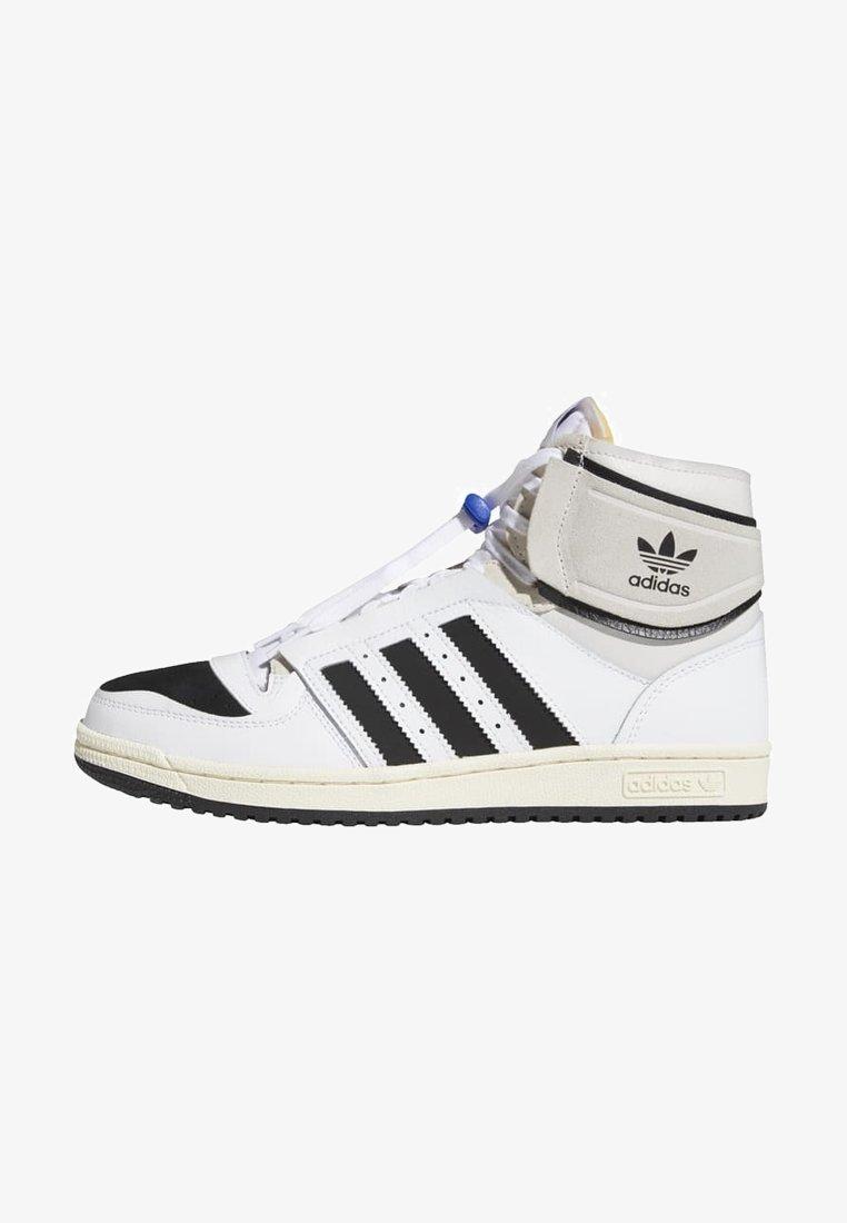 adidas Originals - TOP TEN DE - Sneakers hoog - white
