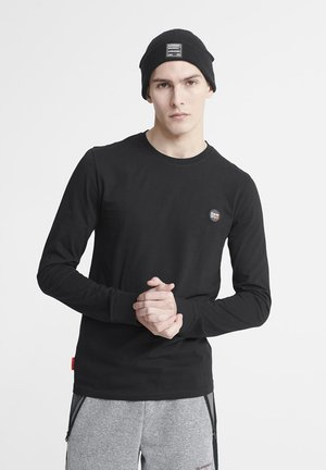 LONG SLEEVED - Long sleeved top - black