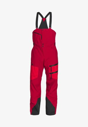 VERTICAL - Pantaloni da neve - dark chilli