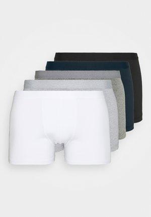 5 PACK - Underkläder - black /dark blue/mottled grey