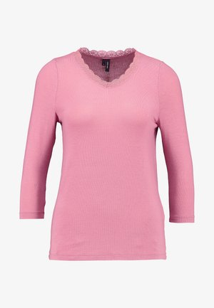 VMHONEY V-NECK - Svetr - mesa rose