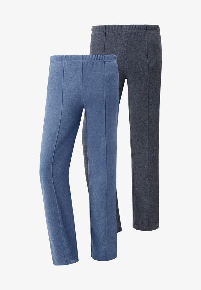 Tracksuit bottoms - blue gray