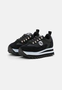 No Name - FLEX RIPPLE - Trainers - black/grey - 2