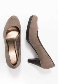 Marco Tozzi - Classic heels - taupe - 3