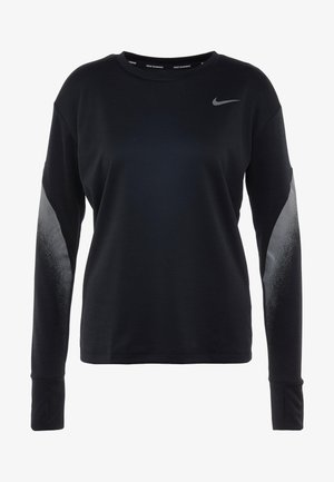 MIDLAYER RUNWAY - Sportshirt - black/silver
