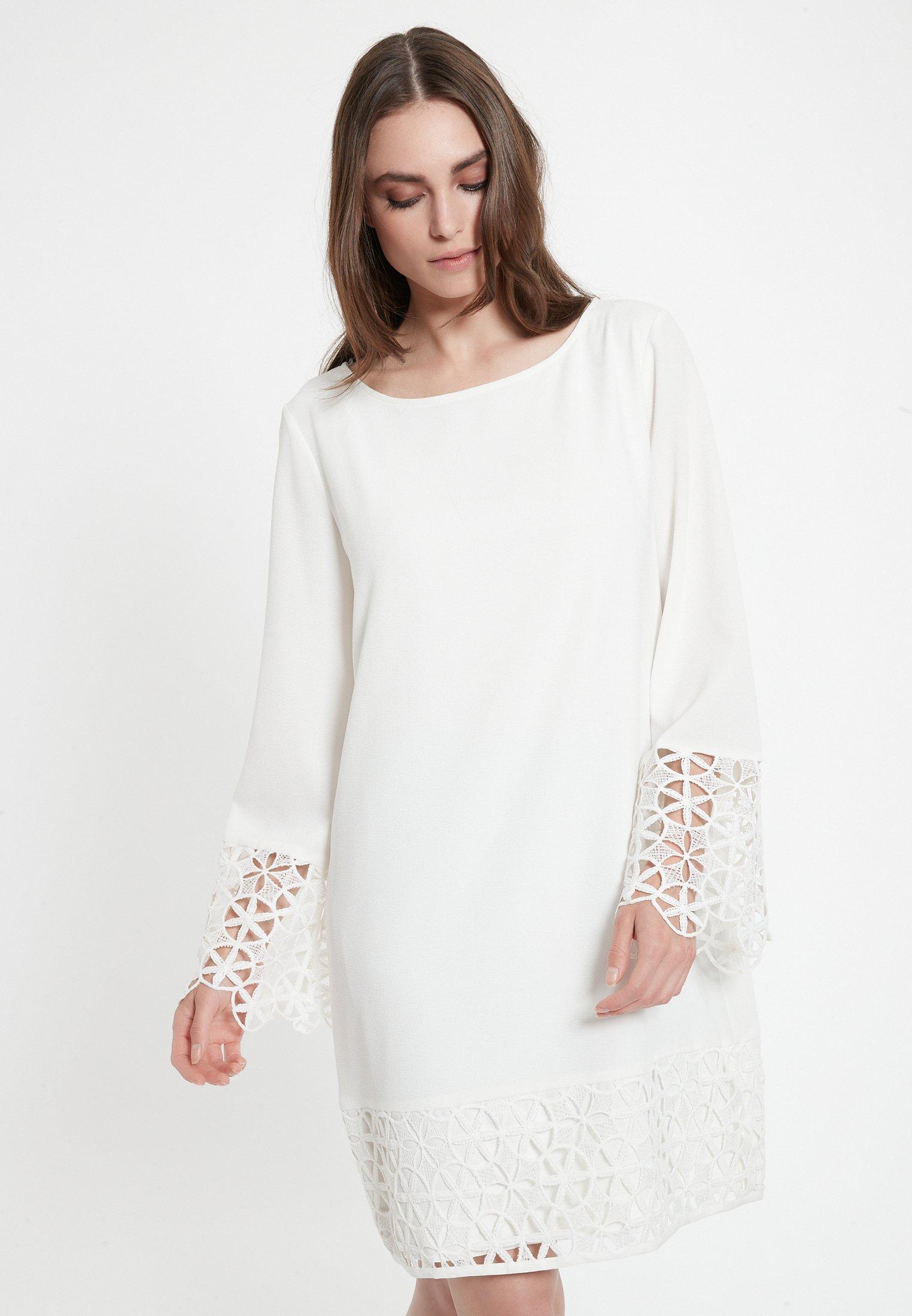 Kleid Weiß Spitze Zalando  seattle 2021