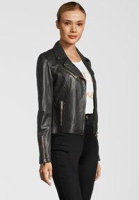 Rino&Pelle - GHOST - Leather jacket - dark chocolate - 2