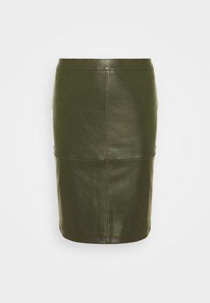 VIPEN NEW SKIRT - Pencil skirt - forest night