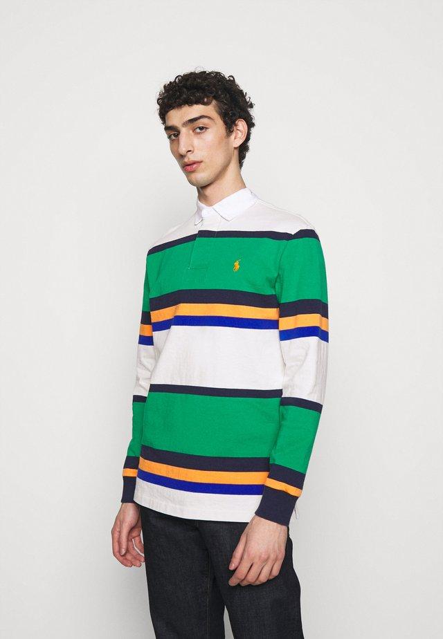 RUSTIC - Poloshirt - scarab green mult