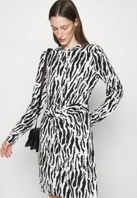 Bruuns Bazaar - BELL BINA DRESS - Day dress - black/white - 3