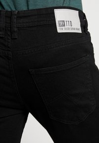 TOM TAILOR DENIM - CULVER PRICE STARTER - Jeans Skinny Fit - black denim - 5