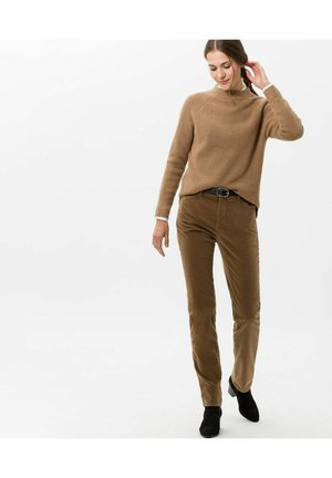 MARY - Trousers - brown