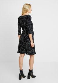 Noppies - DRESS NURS TATUM - Jerseykleid - black - 2