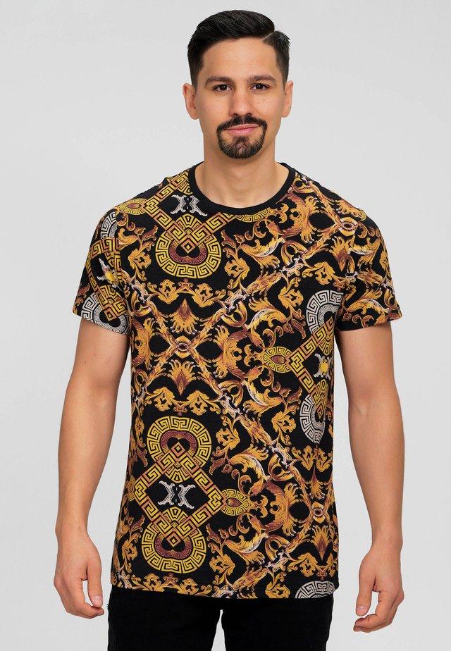 ECKER - T-shirt print - black