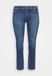 ONLY Carmakoma - CARKAYA LIFE POCKET - Slim fit jeans - dark blue denim - 0