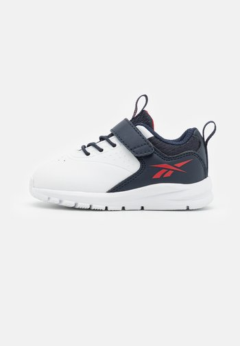 RUSH RUNNER 4.0 UNISEX - Neutral running shoes - footwear white/vector navy/vector red
