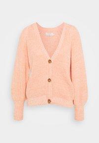 Cream - CRANNOLINA CARDIGAN - Vest - peach echo melange - 0