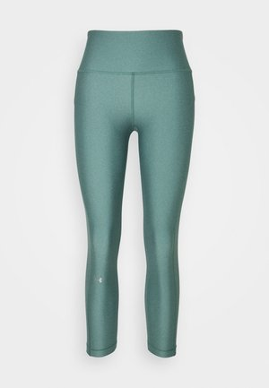 HI RISE CROP - Leggings - saxon green light heather