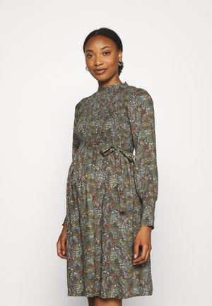 MLZELMA DRESS - Day dress - dusty olive