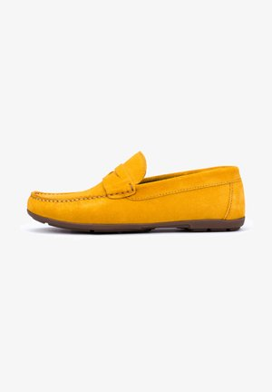 Mocasines - mustard yellow
