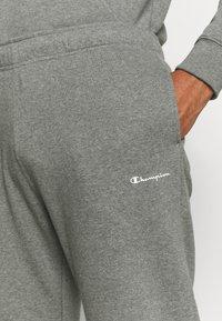 Champion - STRAIGHT HEM PANTS - Tracksuit bottoms - grey - 4