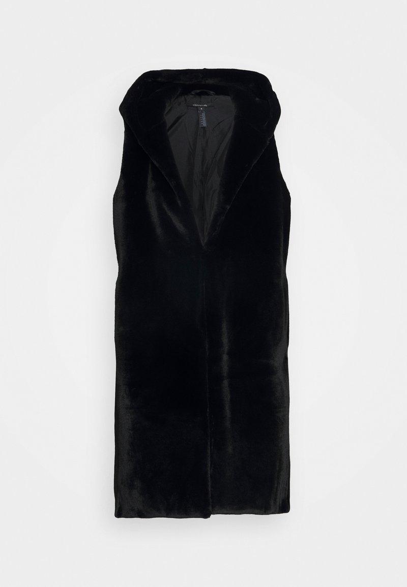 comma - Waistcoat - black