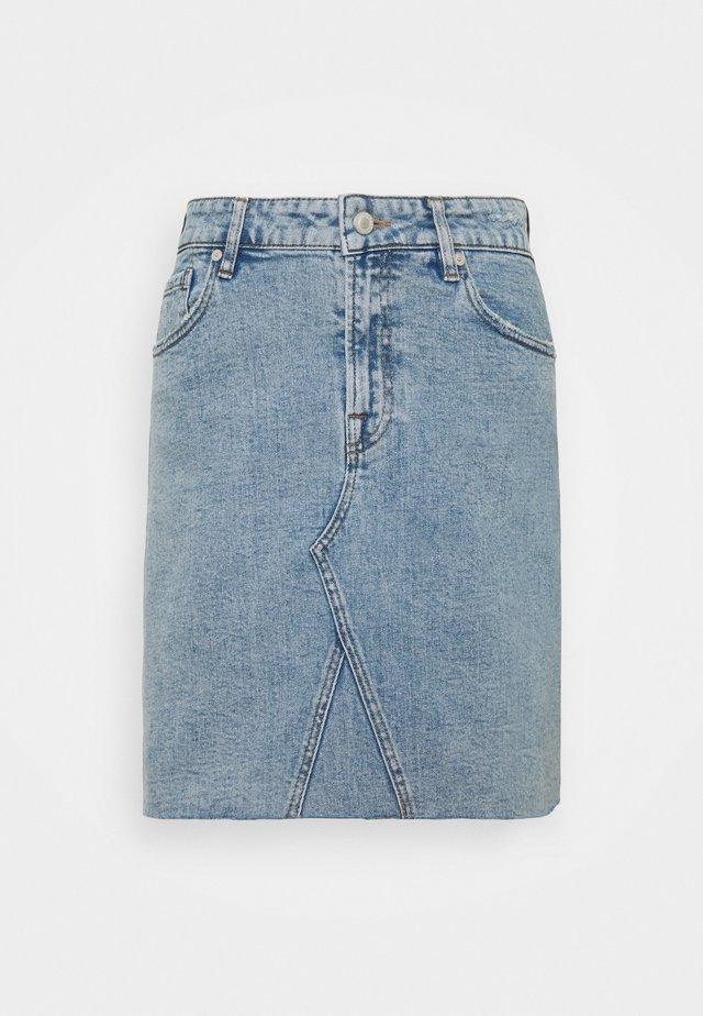 ANGIE SKIRT WASH VINTAGE CORNWALL - Spódnica mini - denim blue