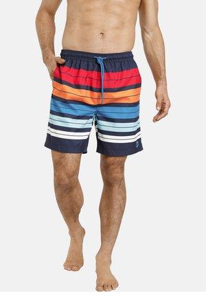 Swimming shorts - blau gestreift
