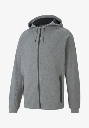 PUMA PORSCHE DESIGN - Zip-up hoodie - medium gray heather