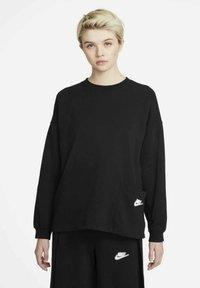 Nike Sportswear - CREW EARTH DAY - Sweatshirt - black/white - 0