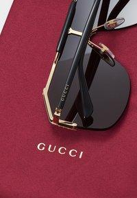 Gucci - Sunglasses - gold/black/grey - 5