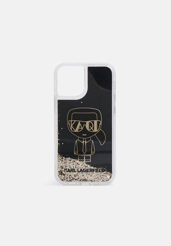 IKONIK GLITTER IPHONE12 MINI - Phone case - black