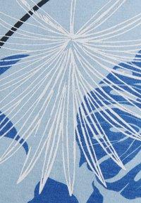 Shine Original - PALM O NECK TEE - Print T-shirt - blue - 2