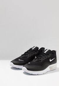 Nike Performance - AIR MAX SEQUENT 4.5 - Neutral running shoes - black/white - 2