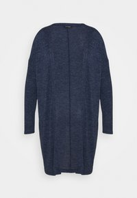 Evans - SOFT TOUCH CARDIGAN - Cardigan - blue - 4