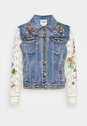 CHAQ ATHLAS - Denim jacket - blue