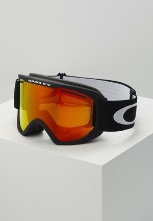 FRAME PRO XL - Ski goggles - black/red