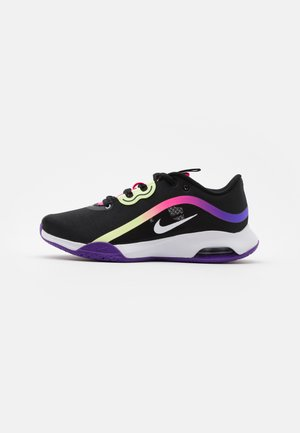 AIR MAX VOLLEY - Multicourt tennis shoes - black/white/liquid lime/pink blast