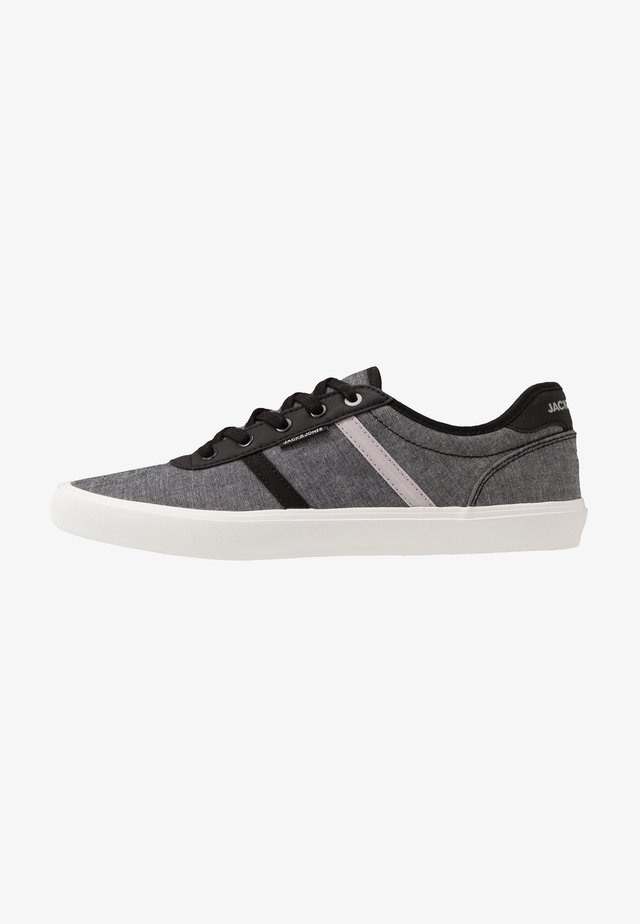 JFWLOGAN CHAMBRAY - Baskets basses - anthracite