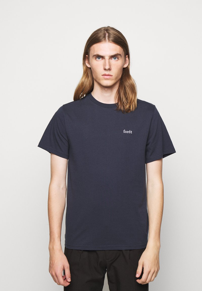 forét - AIR - Basic T-shirt - navy