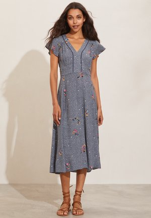 JENNA - Day dress - pigeon blue