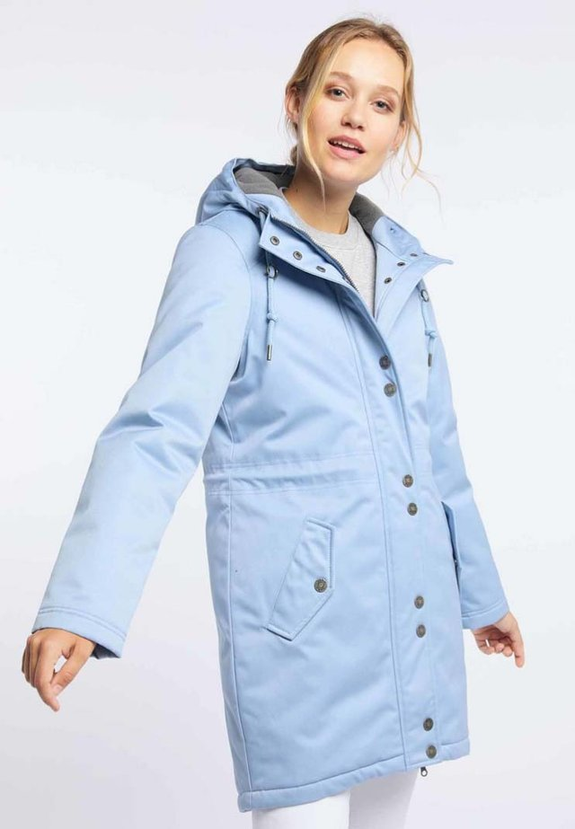 Zimní kabát - smoke blue