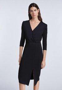 SET - Day dress - black - 0