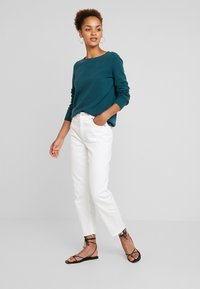 Marc O'Polo - LONGSLEEVE BASIC - Jumper - dusky emerald - 1